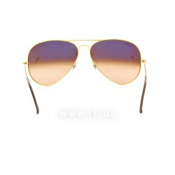 Очки Ray-Ban Aviator Large Metal II RB3026-9001-A5 Dark Arista | Faded Brown, вид сзади