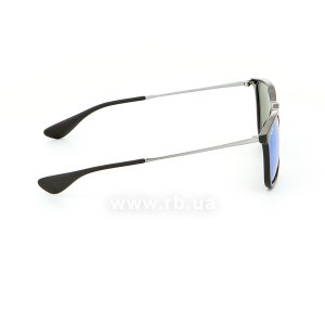 Очки Ray-Ban Chris RB4187-601-55 Black | Blue  Mirror, вид справа