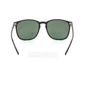 Очки Ray-Ban Youngster RB4387-601-71 Black  | Grey/Green, вид сзади