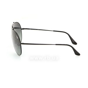Очки Ray-Ban Wings RB3597-002-11 Black | Faded Grey, вид слева