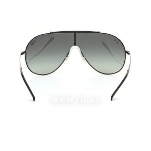 Очки Ray-Ban Wings RB3597-002-11 Black | Faded Grey, вид сзади