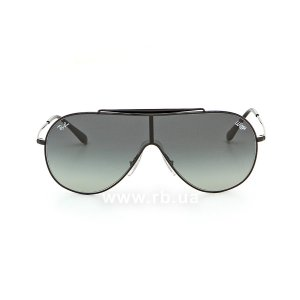 Очки Ray-Ban Wings RB3597-002-11 Black | Faded Grey, вид спереди