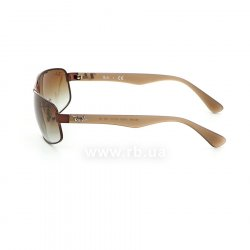 Очки Ray-Ban Active Lifestyle RB3445-012-13 Brown | Gradient Brown, вид слева