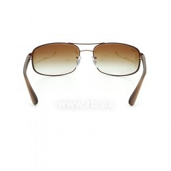 Очки Ray-Ban Active Lifestyle RB3445-012-13 Brown | Gradient Brown, вид сзади
