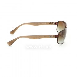 Очки Ray-Ban Active Lifestyle RB3445-012-13 Brown | Gradient Brown, вид справа