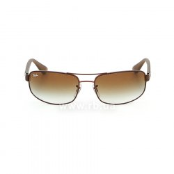 Очки Ray-Ban Active Lifestyle RB3445-012-13 Brown | Gradient Brown, вид спереди