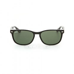 Очки Ray-Ban Highstreet RB2184-901-31 Black | Natural Green, вид спереди