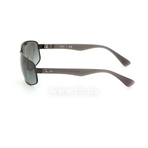 Очки Ray-Ban Active Lifestyle RB3445-006-11 Black | Faded Grey, вид слева