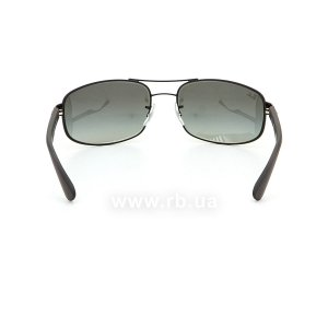 Очки Ray-Ban Active Lifestyle RB3445-006-11 Black | Faded Grey, вид сзади