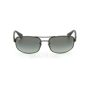 Очки Ray-Ban Active Lifestyle RB3445-006-11 Black | Faded Grey, вид спереди