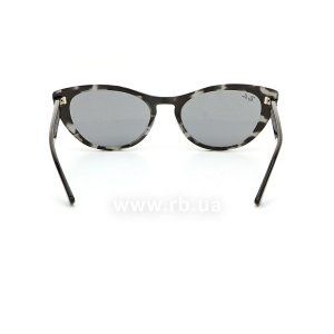 Очки Ray-Ban Nina RB4314N-1250-Y5 Striped Grey | Dark Blue, вид сзади