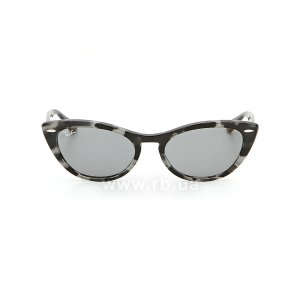 Очки Ray-Ban Nina RB4314N-1250-Y5 Striped Grey | Dark Blue, вид спереди