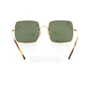 Очки Ray-Ban Square RB1971-9147-31 Arista | Natural Green, вид сзади