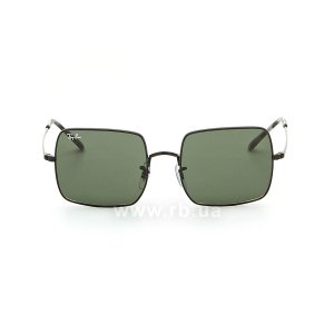 Очки Ray-Ban Square RB1971-9148-31 Black | Natural Green, вид спереди