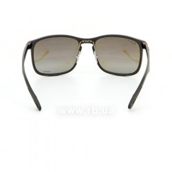 Очки Ray-Ban Chromance RB4264-601S-5J Black | Silver Mirror Polarized, вид сзади