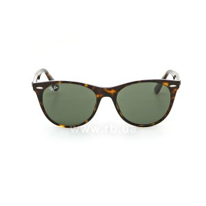 Очки Ray-Ban Wayfarer II Classic RB2185-902-31 Havana | Natural Green, вид спереди