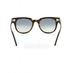 Очки Ray-Ban Meteor Classic RB2168-902-32 Dark Havana | Gradient Grey, вид сзади