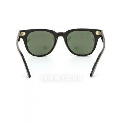 Очки Ray-Ban Meteor Classic RB2168-901-31 Black | Natural Green, вид сзади