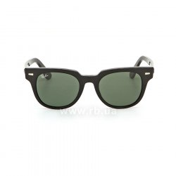 Очки Ray-Ban Meteor Classic RB2168-901-31 Black | Natural Green, вид спереди