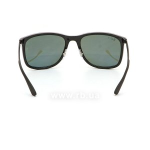 Очки Ray-Ban Active Lifestyle RB4313-601-9A Black | Green Polarized, вид сзади