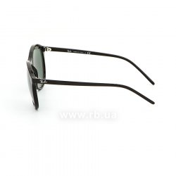 Очки Ray-Ban Youngster RB4371-601-71 Black | Green, вид слева