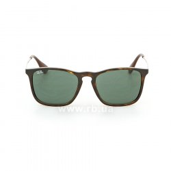 Очки Ray-Ban Chris RB4187-710-71 Havana/ Grey/Green, вид спереди