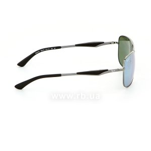 Очки Ray-Ban Active Lifestyle RB3515-004-Y4 Gunmetal | Crystal Silver Mirror Polarized, вид справа