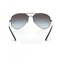 Очки Ray-Ban Youngster Aviator RB3558-002-8G Black | Grey Gragient, вид сзади