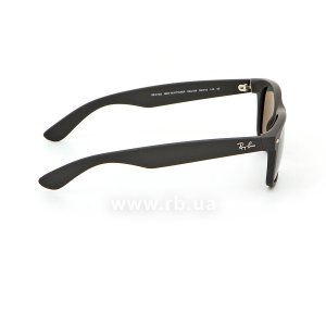 Очки Ray-Ban New Wayfarer RB2132-622-58 Black | Natural Green Polarized, вид справа