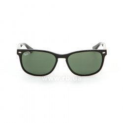 Очки Ray-Ban Highstreet RB2184-901-58 Black | Natural Green Polarized, вид спереди
