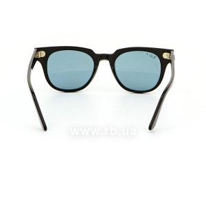 Очки Ray-Ban Meteor Classic RB2168-901-52 Black | Polarized Grey, вид сзади
