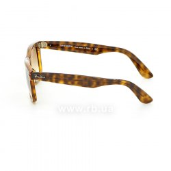 Очки Ray-Ban Modified Wayfarer RB4340-710-51 Havana | Faded Brown, вид слева