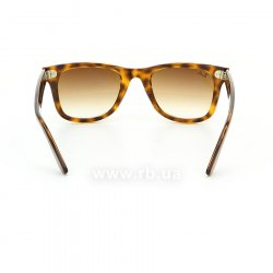 Очки Ray-Ban Modified Wayfarer RB4340-710-51 Havana | Faded Brown, вид сзади