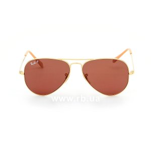 Очки Ray-Ban Aviator II RB3689-9064-AF Arista | Purple Polarised, вид спереди