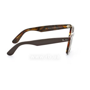 Очки Ray-Ban Original Wayfarer RB2140-1276-51 Brown / Dark Havana | Faded Brown, вид справа