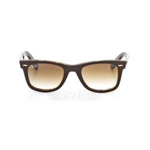 Очки Ray-Ban Original Wayfarer RB2140-1276-51 Brown / Dark Havana | Faded Brown, вид спереди