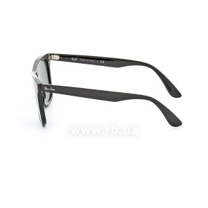Очки Ray-Ban Blaze Wayfarer RB4440N-601-71 Black | Green / Grey, вид слева