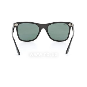 Очки Ray-Ban Blaze Wayfarer RB4440N-601-71 Black | Green / Grey, вид сзади