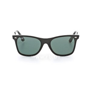 Очки Ray-Ban Blaze Wayfarer RB4440N-601-71 Black | Green / Grey, вид спереди