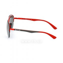Очки Ray-Ban Scuderia Ferrari Collection RB3460M-F012-6G Red / Grey | APX Silver Mirror, вид слева
