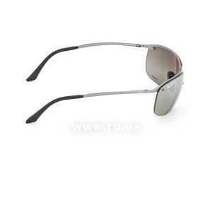 Очки Ray-Ban Top Bar Chromance RB3542-029-5J Grey| Silver Mirror Polarized, вид справа