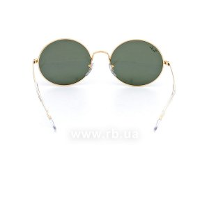 Очки Ray-Ban Oval RB1970-9196-31 Arista | Natural Green, вид сзади