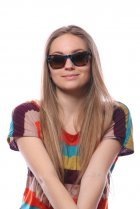 Ray-Ban Original Wayfarer Blocks Dancers RB2140 1108/85 на людях 12