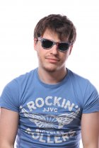 Ray-Ban Original Wayfarer Patchwork RB2140 1135 на людях 2