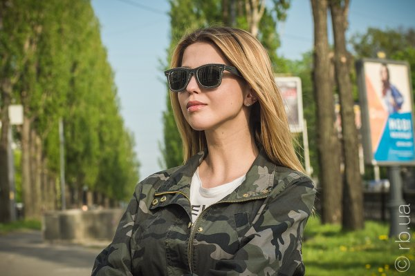 Ray-Ban Original Wayfarer Denim RB2140 1162 на людях 9