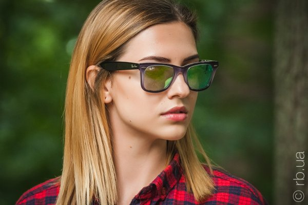 Ray-Ban Original Wayfarer Color Mix RB2140 1199/4J на людях 5