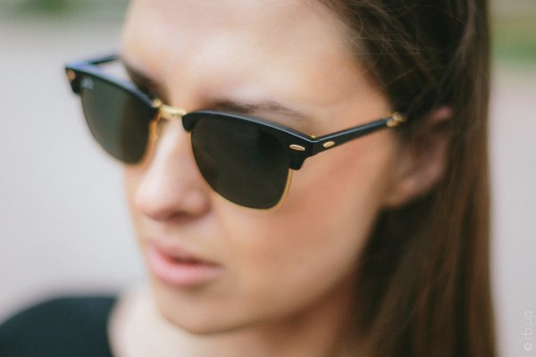 Ray-Ban Folding Clubmaster RB2176 901 на людях 5