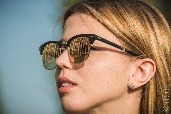 Ray-Ban Folding Clubmaster RB2176 901S/7O на людях 1