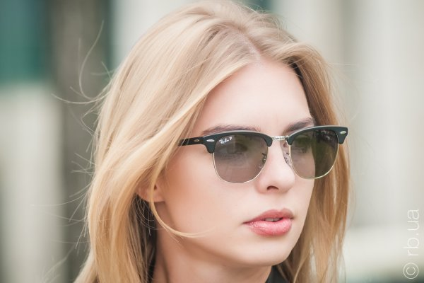 Ray-Ban Folding Clubmaster RB2176 901S/M8 на людях 5