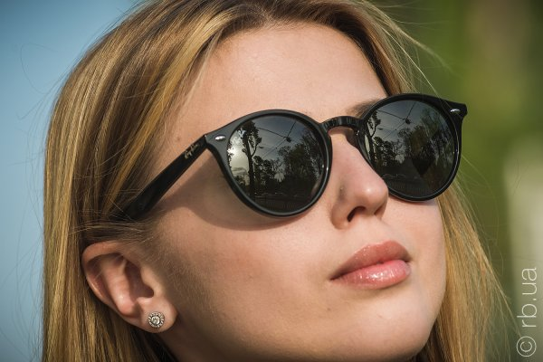 Ray-Ban Highstreet RB2180 601/71 на людях 3
